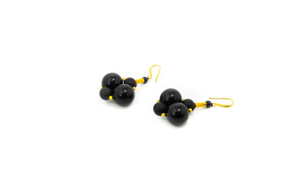 Retro Double Earrings